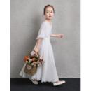 Appliques Flower Girl Dresses
