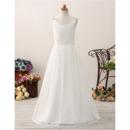 Plus Size First Communion Dresses, Full Length Communion Dresses, Long Length Flower Girl Dresses, Floor Length Flower Girl Dres
