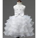 Layered Skirt Flower Girl Dresses
