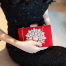 Fashionable Crystal Rhinestone Diamante Wedding Party Evening Handbags/ Purses/ Clutches