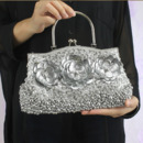 Fashion Beaded Sequin Flower Beading Wedding Party Evening Handbags/ Purses/ Clutches