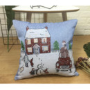 Pillowcase Snow House Decorative 18