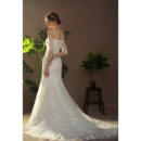 Lace-up Tulle Wedding Dresses