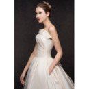 Fall Satin Wedding Dresses