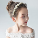 Beautiful Rhinestone Flower Girl Tiara