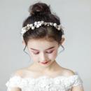 Flower Girl Pearl Hairband Headband Hair Accessory for Wedding