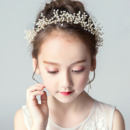 Flower Girl Beading Hoop Headband Hairband Headwear for Wedding