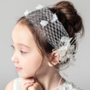 Flower Girl Lace Headband Hairband Headwear Accessory for Wedding