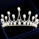 Alloy with Pearl Wedding Tiara/ Headpieces for Brides