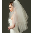 Charming 2 Layers Elbow-Length Tulle Wedding Veils