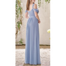 Pleated Chiffon Bridesmaid Dresses