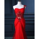 Sweetheart Chiffon Evening Dresses