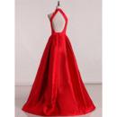 Full Length Satin Evening Dresses