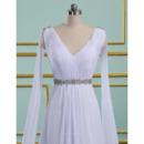 Summer Chiffon Wedding Gowns