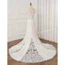 Beaded Appliques Wedding Dresses