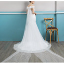 Applique Beaded Bodice Wedding Dresses