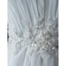 Court Train Chiffon Wedding Dresses