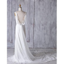Double V-Neck Wedding Dresses