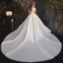 Satin Wedding Dresses With Train