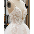 Tulle Over Lace Wedding Dresses