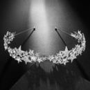 Amazing New Design Crystal Star-inspired Silver First Communion Flower Girl Tiara/ Wedding Headpiece