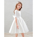 Pretty Satin First Communion Dresses