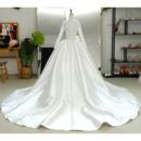 Sexy Illusion Bodice Wedding Dresses