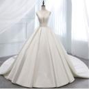 Fall Satin Wedding Dresses