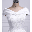 Floral Applique Detailing Wedding Dresses
