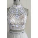 Keyhole Back A Line Wedding Dresses