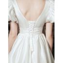 Tea-Length Tulle Wedding Dresses