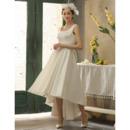 High Low Asymmetrical Hem Wedding Dresses