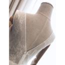 Illusion Neckline Short Wedding Dresses