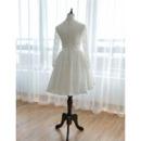 Short Lace Wedding Dresses
