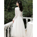 Lace Bodice Reception Wedding Dresses
