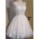 Appliques Short Wedding Dresses