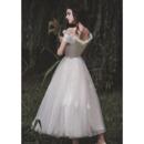 Off-the-shoulder Short Wedding Dresses